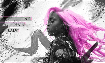 SOTW 319 Pink Hair 3eme BloodyAx by Zzaber