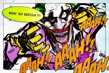 why so serious? by kent-of-artload
