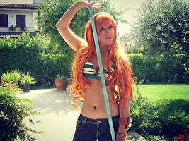 Nami the Navigator - One Piece Cosplay by Namuzza94
