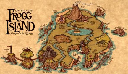 Frogg Island by Kennon9