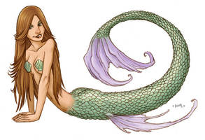 Mermaid 1 by Kennon9