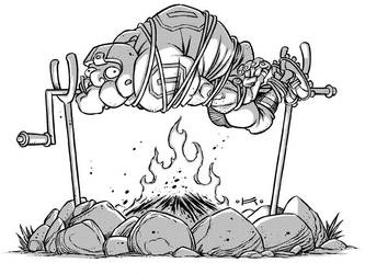 Palindrome 1 - QB BBQ by Kennon9