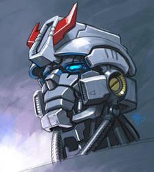 Mechanical Face by EJ-Su