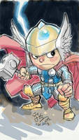 SD God of Thunder by EJ-Su