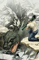 Godzilla #7 final by EJ-Su