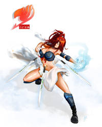 Erza Scarlet - Fairy Tail by AllMore
