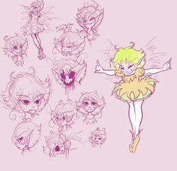 Some nameless Faerie by Warlord-of-Noodles