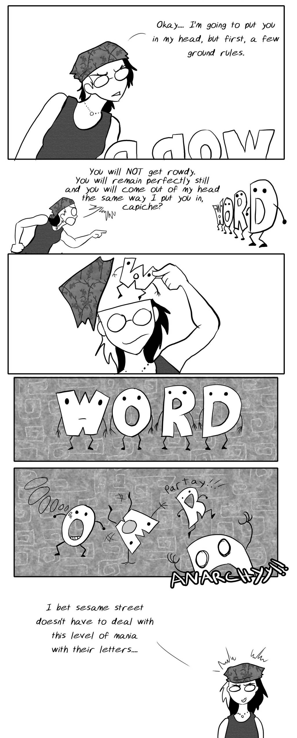 Herding Letters by Warlord-of-Noodles