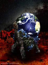 Cosmic Tortoise by zaENDle