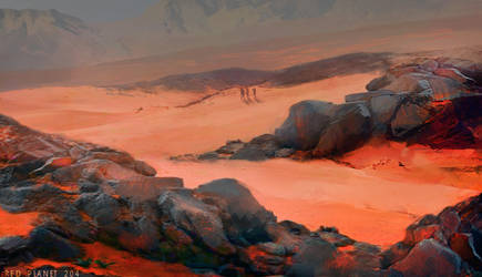 Red planet 204 by Pati-Velux