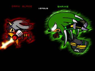 Dark blade vs Shrike by DJ-Shrike