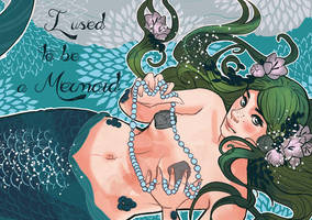 i used to be a mermaid cover wip by audreymolinatti