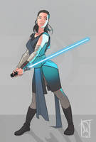 Rey - Star Wars by Chokorroll