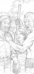 Pocahontas and John Smith Page 12 by JerMohler