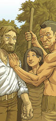 Pocahontas and John Smith Page 12 Color by JerMohler