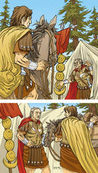 Caesar and the Battle of Alesia Page 02 Colors by JerMohler