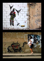 Beirut Graffiti: Encounters by Majnouna