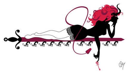Ten Devil Woman by Majnouna