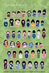Creative Kokeshi -romaji- by Majnouna