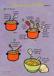 Quick food: Stewed vegetables by Majnouna