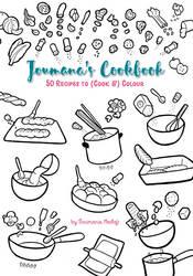 Joumana's Cookbook to color... by Majnouna
