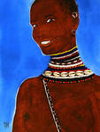 Turkana Smile by Majnouna