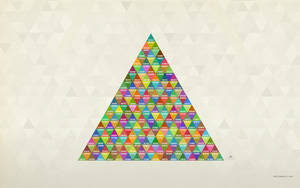 Triangle Wallpaper by pixel-junglist