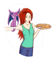 Pizza Girl by AliseCullen