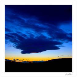Bleu-noir... by Michel-Lag-Chavarria