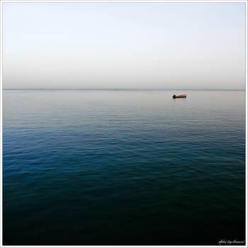 Where the horizon vanishes... by Michel-Lag-Chavarria