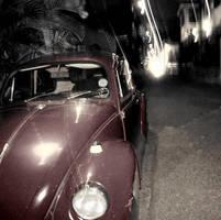 Parked in the street by Oritaku