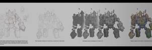 Grave Golem tutorial by Gimaldinov