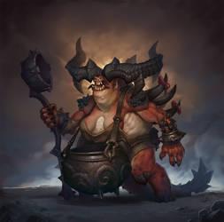 Hell Cook by Gimaldinov