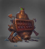 Evil Robot 7 by Gimaldinov