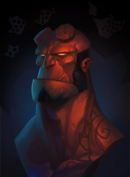 Hellboy by Gimaldinov