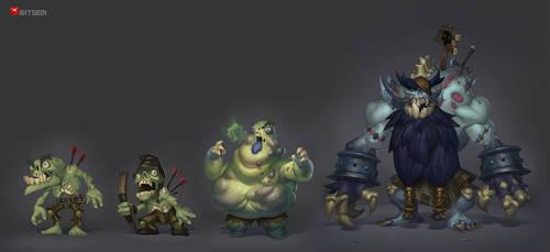 Zombie Crew by Gimaldinov