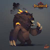 Hell Bear by Gimaldinov