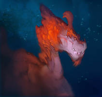 Coral Dragon by Gimaldinov