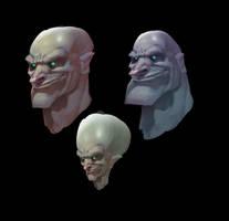 Heads by Gimaldinov