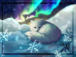 Arctic Fox by CatFace2405