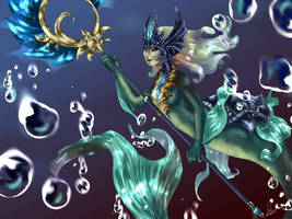 Nami LoL by CatFace2405