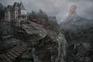 Crystal House On The Mountain by samaposebe