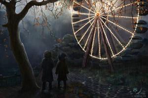 The Black Ferris by samaposebe