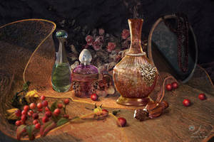 Autumn Scents. Diptych, part 1 by samaposebe