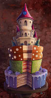 Cake by samaposebe