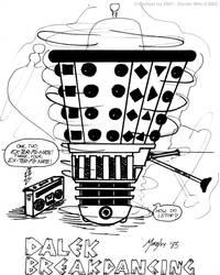 Doctor Who:Dalek Breakdancing1 by temmosus