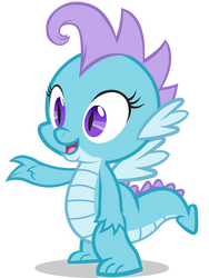 Krystal the Dragon by Agirl3003