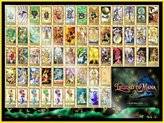 Legend of Mana Tempering Cards by Coatlique
