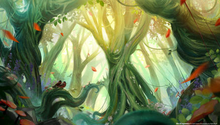 Fernwood Forest by babeskull16