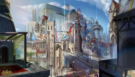 Azmar City by babeskull16